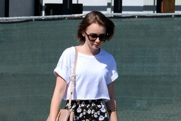 Lily Collins Lily Collins Goes to the Salon