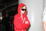 Lily Rose Depp Is Seen at LAX