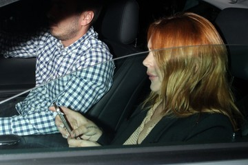 Lindsay Lohan Celebs at Chiltern Firehouse — Part 2