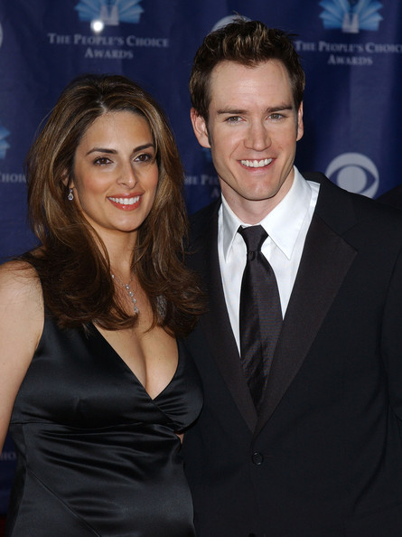 Lisa Ann Russell with former husband Mark-Paul Gosselaar