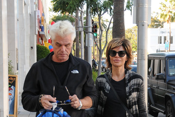 Lisa Rinna Harry Hamlin and Lisa Rinna Have a Date in Beverly Hills