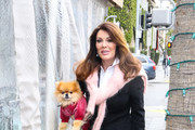 Lisa Vanderpump Goes Shopping In Beverly Hills