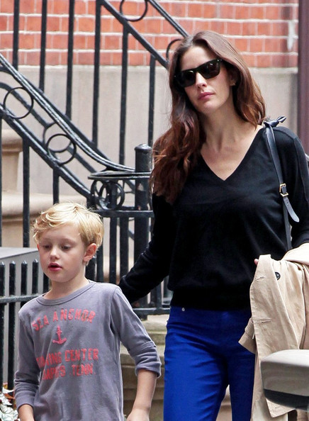 Photo of Liv Tyler & her Son  Milo William Langdon