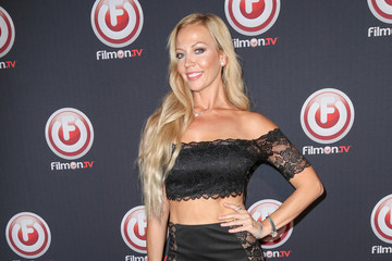 Liz Fuller Celebrities Attend the 'Bob Thunder: Internet Assassin' Premiere at Egyptian Theatre