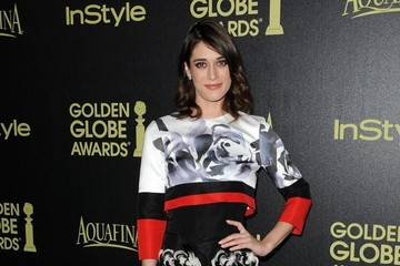 Lizzy Caplan Golden Globe Awards Season Celebrated