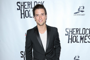 Logan Henderson Opening Night of Sir Arthur Conan Doyle's 'Sherlock Holmes'