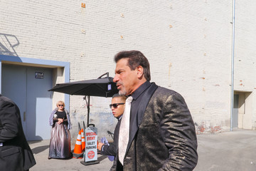 Lou Ferrigno Lou Ferrigno Sightings Outside Hollywood Museum