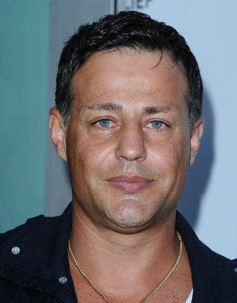 Louis Mandylor and wife