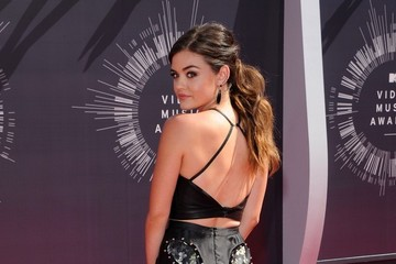 Lucy Hale Arrivals at the MTV Video Music Awards