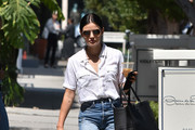 Lucy Hale out and about.