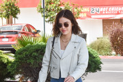 Lucy Hale Is Seen Out In Los Angeles