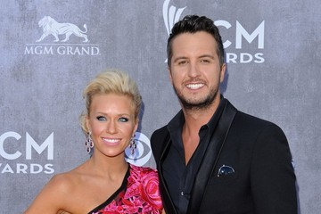 Luke Bryan Arrivals at the Academy of Country Music Awards