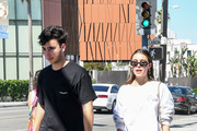 Madison Beer And Her Boyfriend, Zack Bia, Step Out In LA
