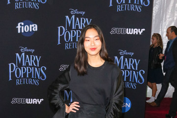 Madison Hu Premiere Of Disney's 'Mary Poppins Returns'