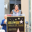 Malgosia Tomassi Malgosia Tomassi Outside Stacey Keach Hollywood Walk Of Fame Star Ceremony