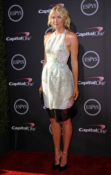 Maria Sharapova - Arrivals at the ESPY Awards