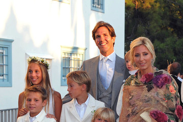 Marie-Chantal Miller Prince Nikolaos of Greece weds
