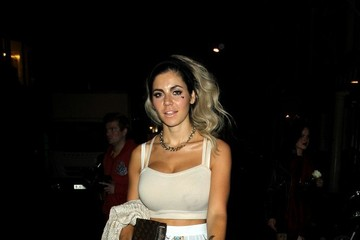Marina Diamandis Marina Diamandis Out Late in London