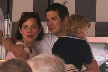 Marion Cotillard Guillaume Canet Marion Cotillard and Family at a Jumping Show