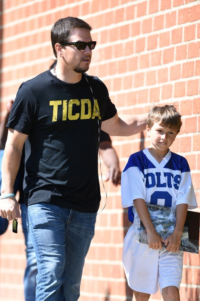 Mark Wahlberg Out and About - The Hollywood Gossip