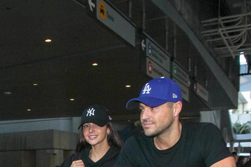 Mark Wright Michelle Keegan and Mark Wright at LAX