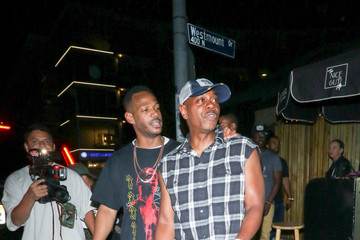 Marlon Wayans Dave Chappelle And Marlon Wayans Outside The Nice Guy