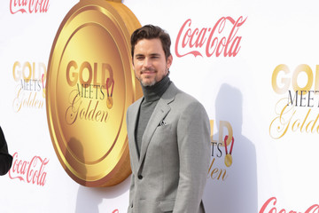 Matt Bomer GOLD MEETS GOLDEN: The 5th Anniversary Refreshed by Coca-Cola, Globes Weekend Gets Sporty with Athletic Royalty