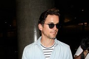 Matt Bomer is seen at LAX