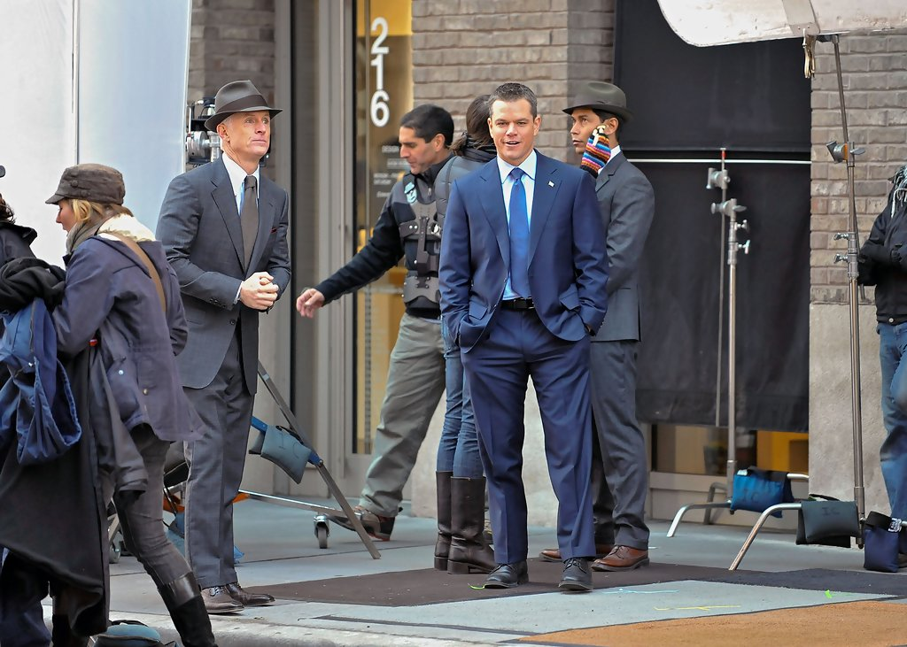 matt damon john slattery photos photos matt damon films the adjustment bureau zimbio. Black Bedroom Furniture Sets. Home Design Ideas