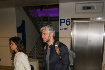 Max Joseph Max Joseph Seen at LAX Airport