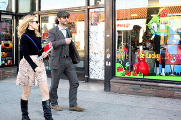 Rachel McAdams Michael Sheen Rachel McAdams and Michael Sheen Get Lunch
