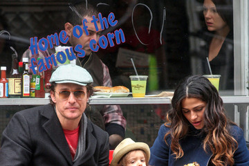 Matthew McConaughey Levi Mcconaughey McConaughey and His Family Get Lunch
