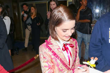 McKenna Grace McKenna Grace Is Seen Outside The Teen Vogue Young Hollywood Party At L.A. Theatre