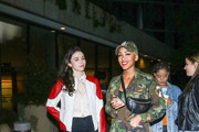 Meagan Good and Grace Fulton are seen in Los Angeles, California.