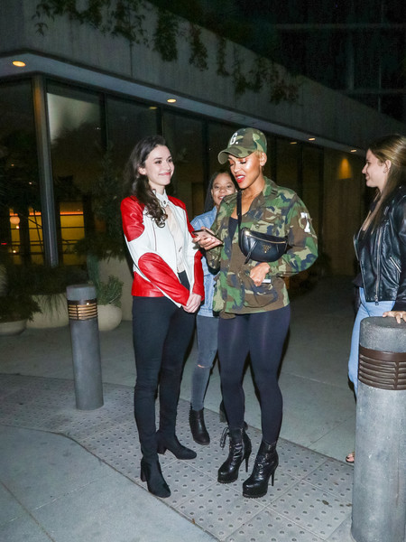 Meagan Good And Grace Fulton Outside 1 Hotel West Hollywood