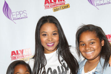 Mechelle Epps Celebs Attend 20th Century Fox Hosts Celebrity Family Sunday Funday Toy Drive