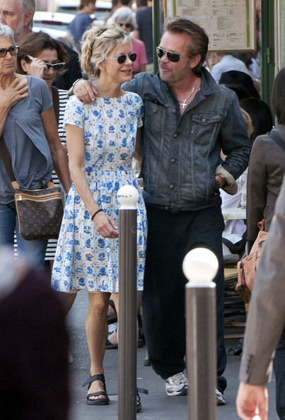 Meg Ryan Photos Photos Meg Ryan And John Mellencamp At