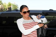 Mel B Seen at LAX