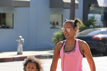 Melanie Brown Mel B Goes Out With Her Daughter