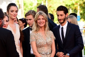Melanie Laurent 'Inside Out' Red Carpet - The 68th Annual Cannes Film Festival