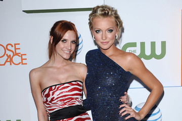 Ashlee Simpson Katie Cassidy Melrose Place Launch Party