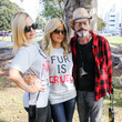 Mena Suvari Celebrities Join An Anti-Fur Protest In Beverly Hills