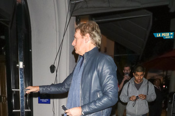 Michael Bolton Michael Bolton Is Seen At Craig's Restaurant In West Hollywood