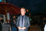 Michael Bolton Is Seen At Craig's Restaurant In West Hollywood