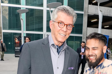 Michael Buffer Michael Buffer Outside ArcLight Theatre In Hollywood