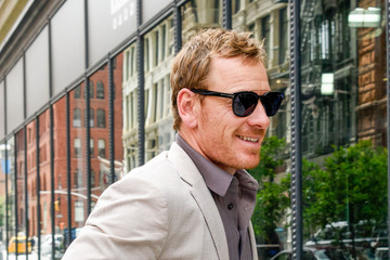 Michael Fassbender 'Alien: Covenant' Cast Is Out and About in New York