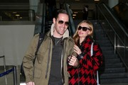 Michael Polish and Kate Bosworth LAX