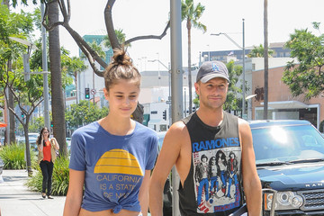 Michael Shank Taylor Hill Goes Hand-in-Hand With Boyfriend Michael Shank