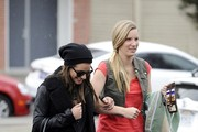Lea Michele and Heather Morris Photos Photo