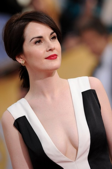 michelle dockery on jimmy fallon